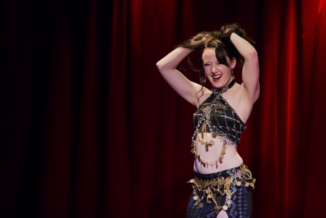 Principal teacher for Dutch belly dance school, Greenstone Belly Dance, performing Contemporary Fusion belly dance in Montreal at Tribal Lab, 2018.