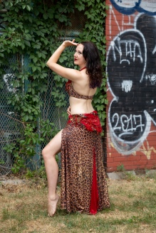 Siobhan Camille, Professional Belly Dancer based in the Netherlands.