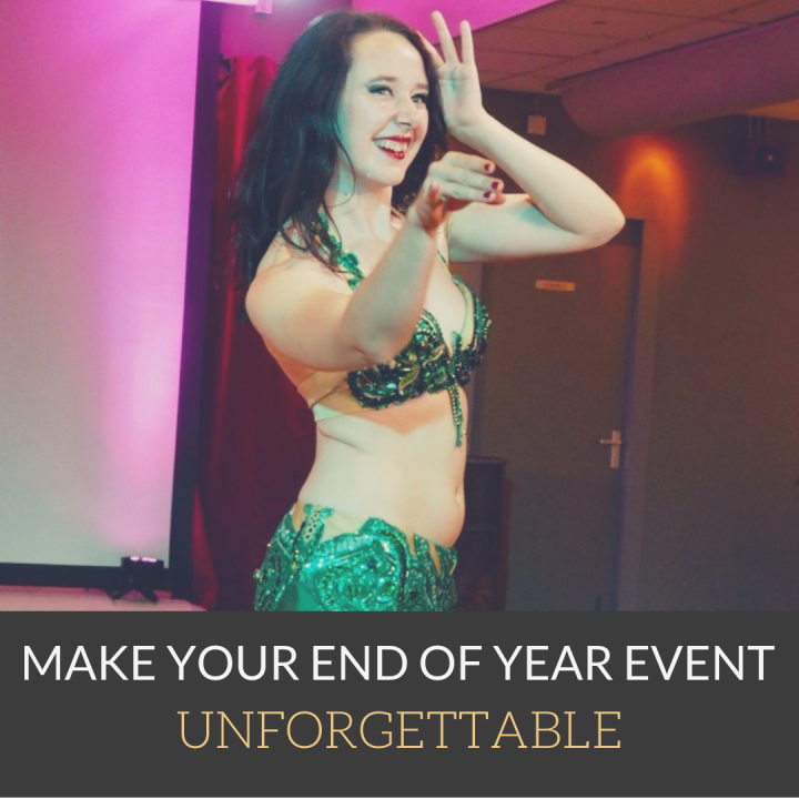 A professional belly dance performance from Greenstone Belly Dance in the Netherlands will set your event apart and make it unforgettable! Enquire now for Christmas party and corporate e