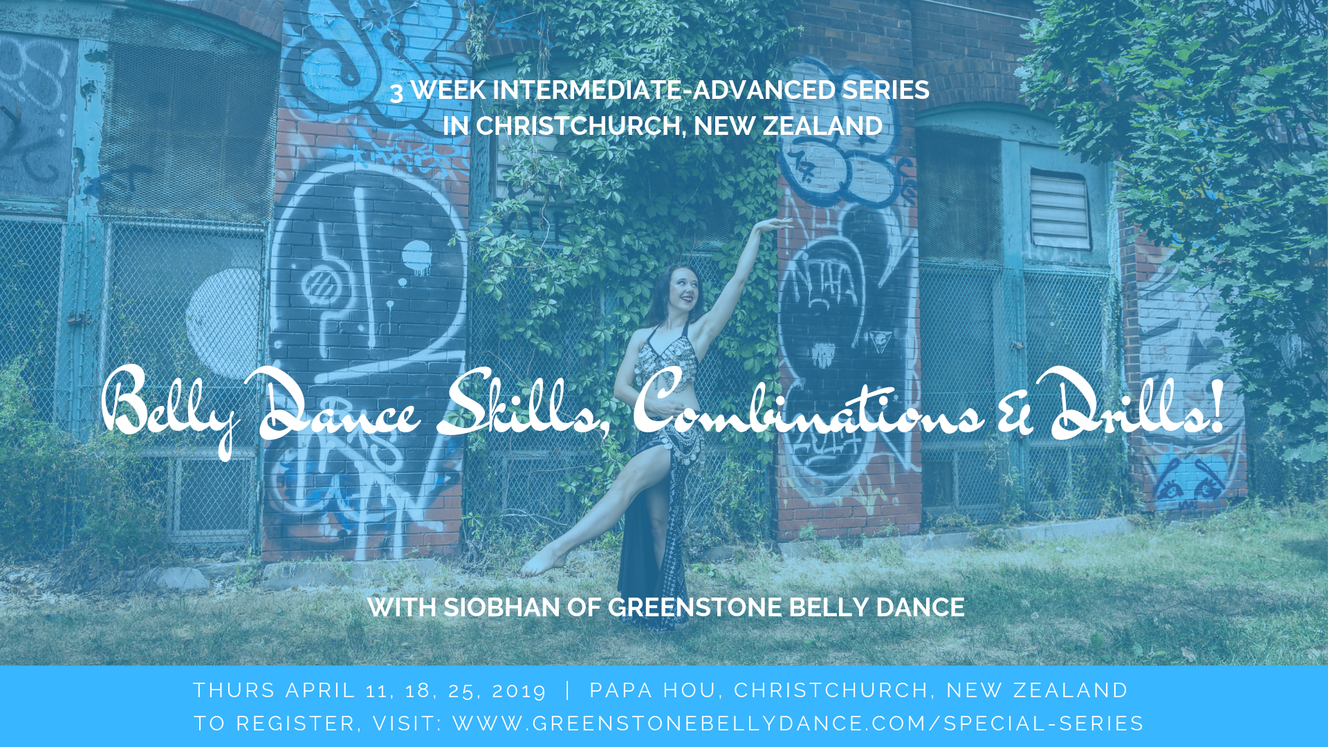 Intermediate-Advanced Belly Dance Series in Christchurch, New Zealand with Siobhan of Greenstone Belly Dance; April 2019 (1)